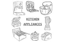 Vector bundle of kitchen appliances