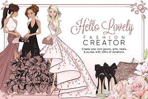 HelloLovely Fashion Portrait Creator
