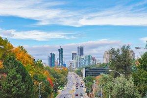 Toronto, North York, Canada-11 Octob