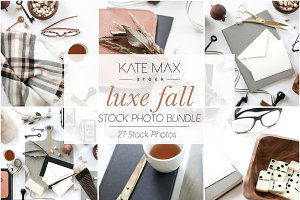 Luxe Fall Styled Stock Photo Bundle