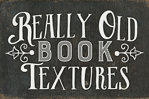 9 Really Old Book Textures