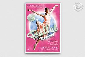Dance Ballet Flyer Template V2