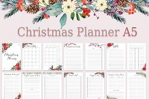 Christmas Planner A5 Printable PDF