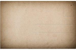Used postcard mail Vintage paper