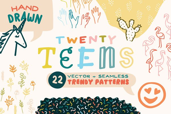 "Patterns: Anugraha Design - ""Twenty Teens"" Trendy Patterns"