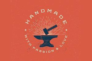 Vintage Handmade Label
