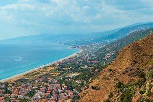 Fiumefreddo Bruzio town, Calabria, I