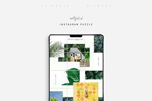Stylish Instagram Puzzle Pack