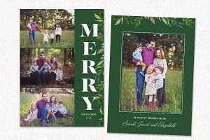 Christmas Card Template CC203