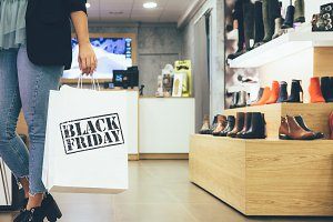 Black friday shopping time