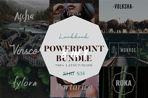 Lookbook Powerpoint Big Bundle
