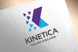 Letter K - Kinetica Logo