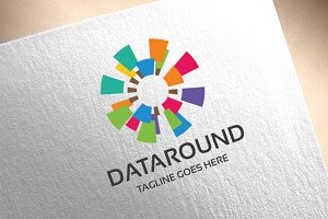 Data Round Logo
