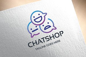 Chatshop Logo