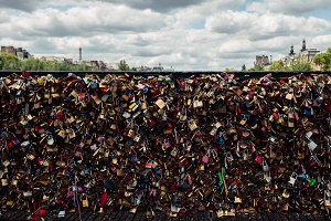 Paris - Love locks