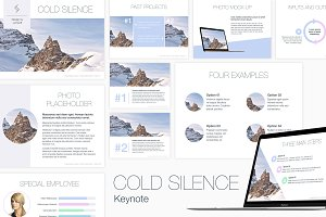 Cold Silence Keynote Template
