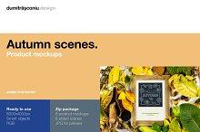 Natural Autumn - Product Mockups