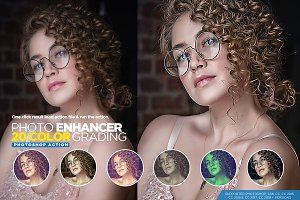 Photo Enhancer With 20 Color Grading