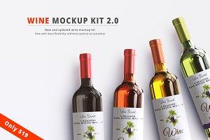 Wine Mockup Kit 2.0