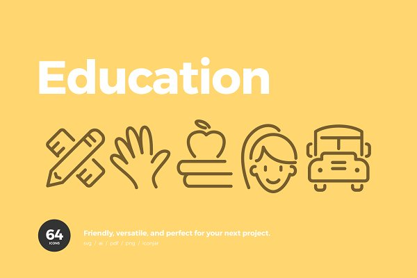 Graphics: Scott Dunlap - Education Icons
