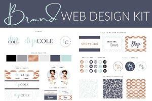 DIY Web Branding Kit - Turquoise