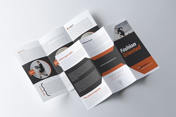 Business Tri Fold Brochure Brochure Templates Creative Market - Business tri fold brochure templates