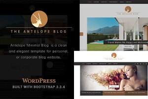 Antelope Minimal WordPress Blog