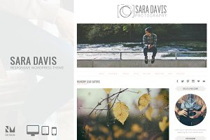 Sara Davis - Wordpress Theme