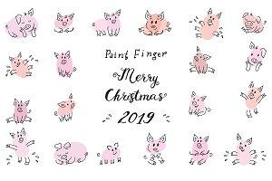 Zodiac Symbol 2019 Piggy