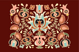 National ethnic ornament