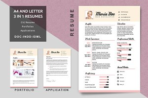 Resume Templates Vol 01