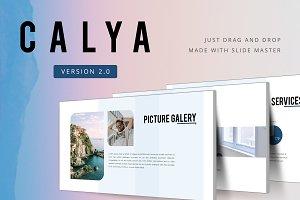 CALYA 2.0 Powerpoint Template