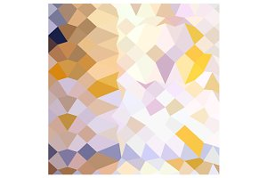 Hansa Yellow Abstract Low Polygon Ba