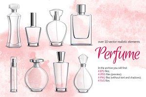 Perfume Flasks Set