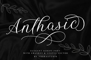 Anthasic Font + Extras