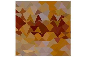 Mikado Yellow Abstract Low Polygon B