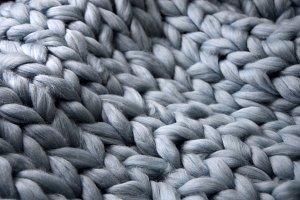 Merino wool handmade knitted