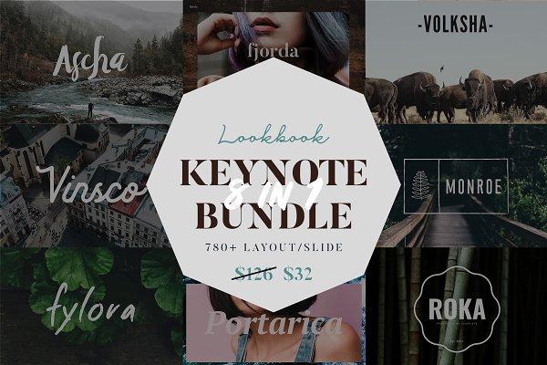 Lookbook Keynote Big Bundle