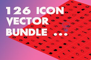 126 ICON VECTOR SET