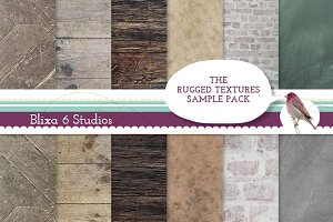 Rugged Textures Digital Sample Pack