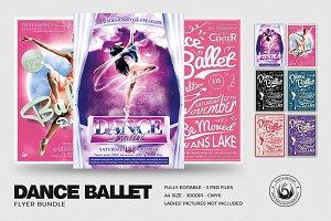 Dance Ballet Flyer Bundle