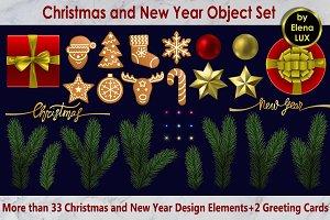 Christmas Object Set