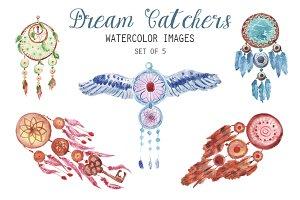 Watercolor Dream Catcher Clipart