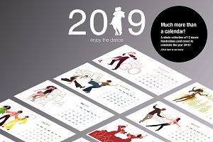 2019 Dance Calendar!