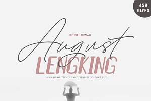 August Bold & LENGKING SLANT+BONUS