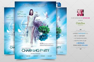 Charming Party Flyer | Poster