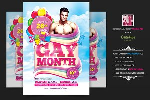 Gay Month Flyer | Poster