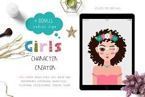 Girls Character Creator