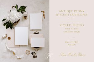 Styled Wedding Invitation Photo