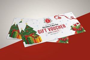 Christmas Gift Voucher V08